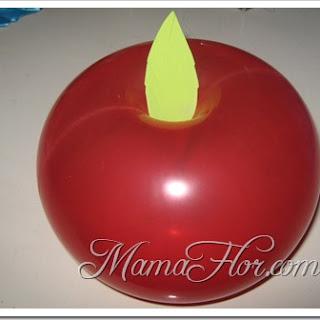 Cómo hacer una Manzana con Globos