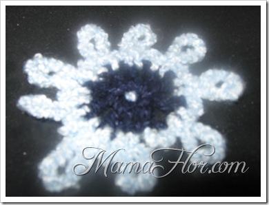 Tejidos a Crochet: Modelo de una Flor…