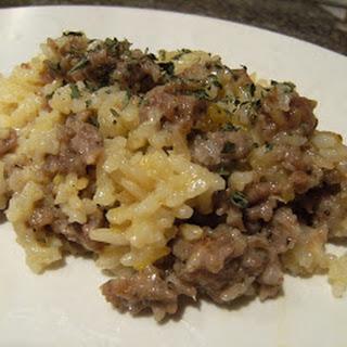 Sausage Rice Casserole Healthy Recipes