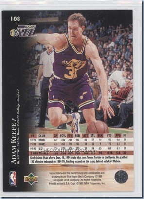 Upper Deck card image from checkoutmycards.com