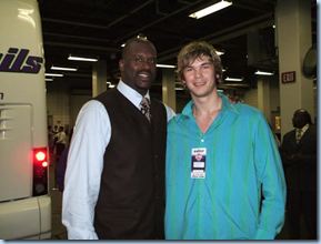 Shaq and Fesenko back in the day