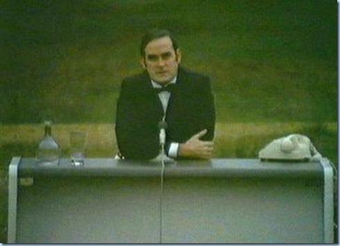 Monty Python continuity announcer