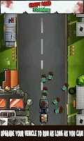 Screenshot of Crazy Road and Zombie