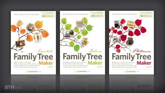 Family Tree Maker 2008 brand design