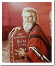 moses charlton heston