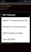 Screenshot of Wifi Manager PRO (for tablet)