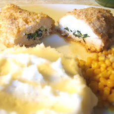 Cream Cheese & Herb Stuffed Chicken Breasts