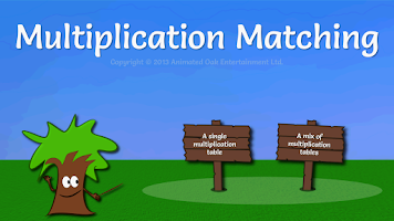 Screenshot of Math Game: Multiplication