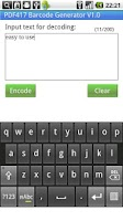 Screenshot of PDF417 Barcode Generator