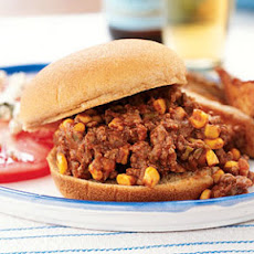 Sloppy Joes with Corn