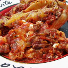 Stuffed Lasagna Shells.