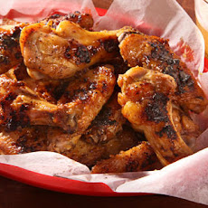 Grilled Maple-Mustard Chicken Wings Recipe