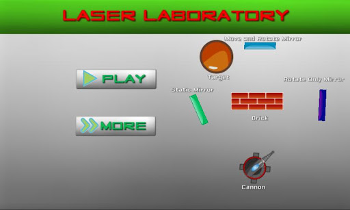 laser-laboratory for android screenshot