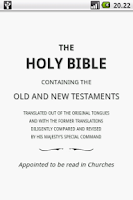 Screenshot of Holy Bible (KJV)