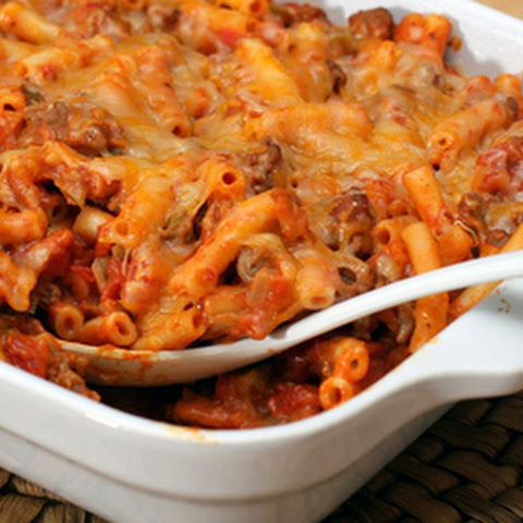 Tex-Mex Macaroni and Ground Beef Casserole