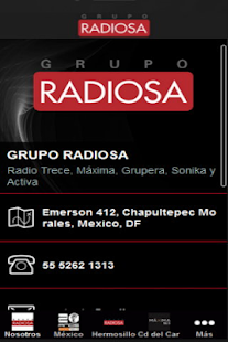 GRUPO RADIOSA - screenshot