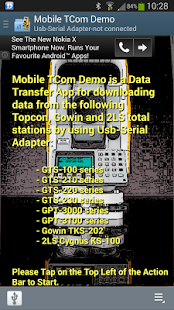 Mobile TCom Demo - screenshot