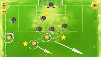 Screenshot of Head Coach - soccer puzzle
