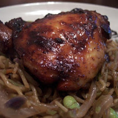 Soy Balsamic Chicken Thighs