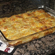 Upscale Chicken Divan Crescent Bake