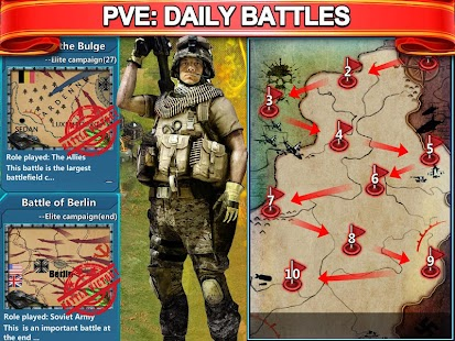 Grand Battle--MMO Strategy:War- screenshot thumbnail