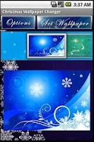 Screenshot of Christmas Wallpaper Changer