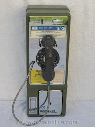 Single Slot Payphones - Illinois Bell Grean Chicago loc B-1 1