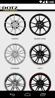 Screenshot of Dotz Wheels Configurator