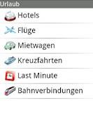 Screenshot of Urlaub