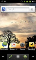 Screenshot of Sun Rise Free Live Wallpaper