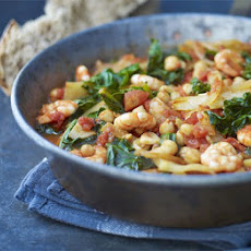 Fennel, Chickpea & Prawn Stew