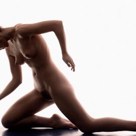 Silhouette by Vineet Johri - Nudes & Boudoir Artistic Nude ( art nude, bodyshape, vkumar photography, silhouette, madam bink )