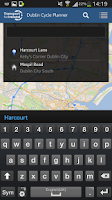 Screenshot of Cycle Journey Planner