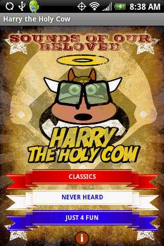 Harry the Holy Cow