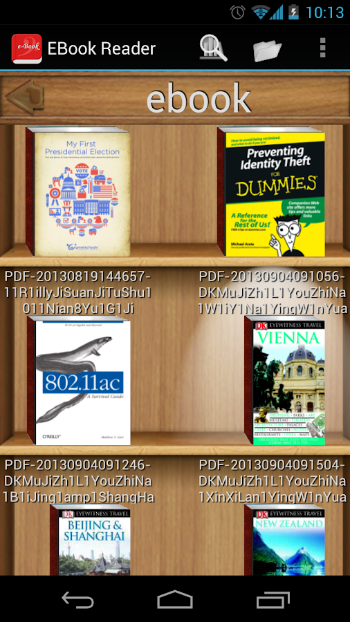 Ebook Reader: gratis MOBI en EPUB reader voor