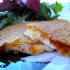 Gluten Free Pepperoni Pizza Quesadilla
