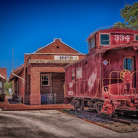 Bristow Caboose by Ron Meyers - Transportation Trains