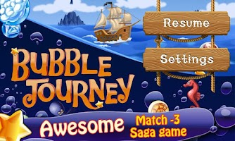 Screenshot of Bubble Journey