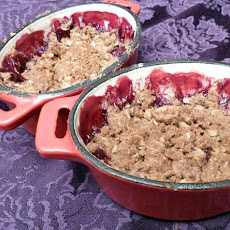Raspberry Apple Crisp
