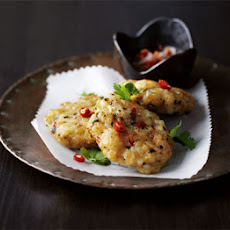 Thai Prawn Cakes With Sticky Chilli Sauce