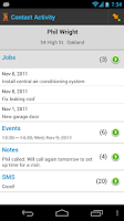 Screenshot of Contractor: Project Management