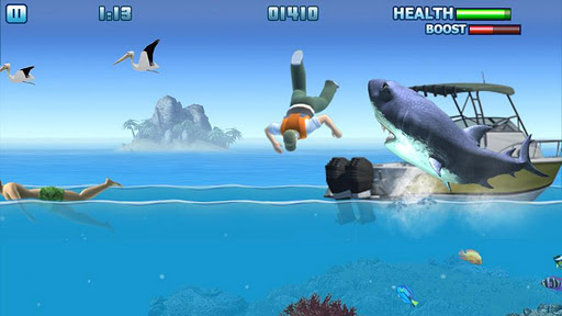 hungry-shark-free for android screenshot