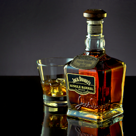 A Nice Tipple by Shaun White - Food & Drink Alcohol & Drinks ( jack, nova, canada, whiskey, select, tennessee, scotia, bottle, aged, product, daniel's, perfection, alcohol, glass, special, barrel, liquor )