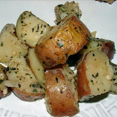 Stove Top Baby Red Potatoes With Basil, Shallots and Garlic