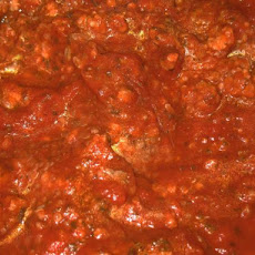 Tasty Meat Sauce for Lasagna