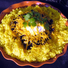 Tex-Mex Black Beans & Saffron Rice
