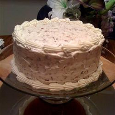 Nutty Cream Cheese Frosting