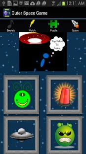 Space Game For Kids - screenshot