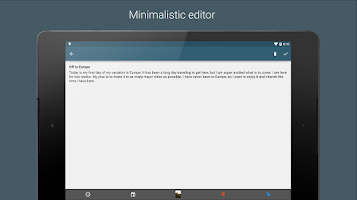 Screenshot of Journal with Narrate