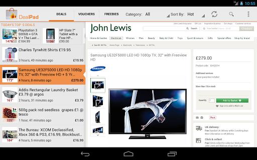 DealPad Ad- HotUKDeals - screenshot